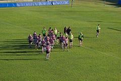 drużynowy rugby reglan Zdjęcie Stock