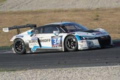 Drużynowy Samochodowy Inkasowy Motorsport audi lms r8 Zdjęcie Stock