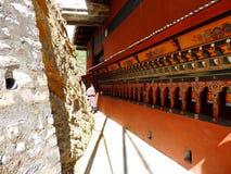 Drubthob Goemba Nunnery, Thimphu, Bhutan. Drubthob Goemba monastery also called Zilukha nunnery is located in Thimphu. Zilukha is among the few modern nunneries stock images