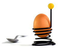 Druciana jajeczna filiżanka Fotografia Stock