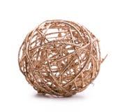 Druciana piłki zabawka Obraz Stock