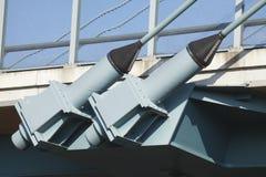 Druciane arkany od mosta Obraz Royalty Free