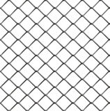 Drucianego ogrodzenia bezszwowy wzór Fotografia Royalty Free
