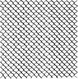 Drucianego ogrodzenia siatki wzór, freehand rysujący wizerunek, cyfrowo remastered czarny i biały tekstura royalty ilustracja