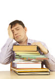 Druck auf Arbeit Lizenzfreie Stockfotos