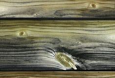 Druck behandeltes Holz Stockbild