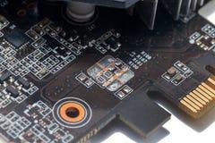 Druck-Leiterplatte der grafischen Karte Lizenzfreies Stockfoto