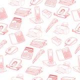 Druck-Skizze von Geschäftsprozessen Lizenzfreie Stockbilder