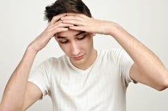 Druck, Traurigkeit, worry⦠Lizenzfreies Stockfoto