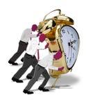 Druck von Zeit. Lizenzfreie Stockfotografie