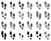 Drucke von Schuhen Lizenzfreies Stockbild