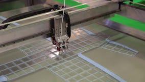 Drucken des Druckers 3d stock video
