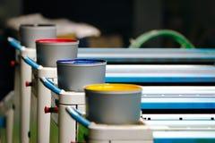 Drucken-Offsetfarbe lizenzfreie stockbilder