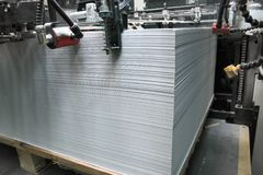 Druckenhaus lizenzfreie stockbilder