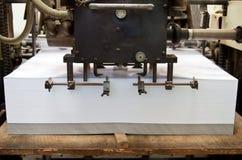 Druckenmaschine Stockfoto