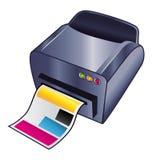 Drucker stock abbildung