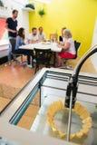 Drucker 3D Lizenzfreie Stockfotos