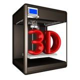 Drucker 3D Abbildung 3D lizenzfreie abbildung