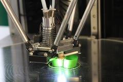 Drucker 3D für Plastik Lizenzfreies Stockfoto