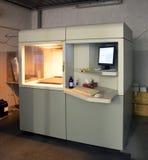 Drucker 3D u. x28; SLA und DLP& x29; stockbild