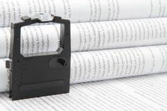 Druckerband Lizenzfreies Stockfoto