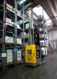 Druckerei: Automatisiertes Lager (Papier) Lizenzfreie Stockfotografie
