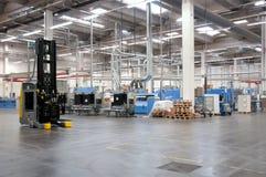 Druckerei: Automatisiertes Lager (Papier) Stockbild