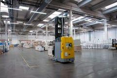Druckerei: Automatisiertes Lager (Papier) Lizenzfreies Stockbild