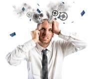 Druckexplosion Lizenzfreie Stockfotos