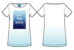 Druckfrauen ` s T-Shirt Stockbilder