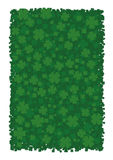 Druckhintergrund für St- Patrick` s Tag lizenzfreie abbildung