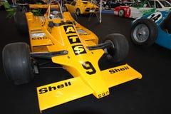 Druckluftanlasser-Formel 1-Rennwagen Stockfotografie