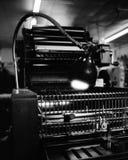 Druckmaschine Stockfoto