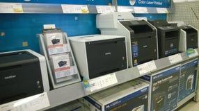 Druckmaschine, die am Speicher verkauft Lizenzfreie Stockfotografie