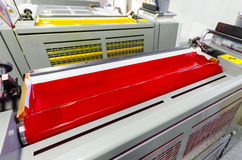 Druckmaschine-Tinten-Einheiten lizenzfreie stockfotos