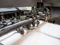 Druckmaschinemaschine Stockbild