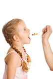 Drug abuse and kids concept Stock Photo