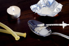 Drug Addiction series 3 Stock Photo