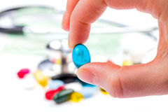 Drug administration Stock Photography