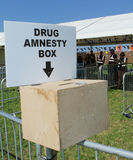 Drug Amnesty Royalty Free Stock Photography