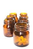 Drug bottle Stock Image