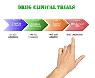 Drug Clinical Trials. Components of Drug Clinical Trials stock photos