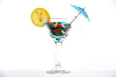 Drug cocktail Royalty Free Stock Image