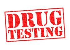 DRUG HET TESTEN vector illustratie