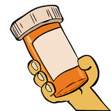 Drug in a jar Stock Photography