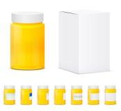 Drug jar vector Stock Photo