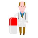 Drug medic Stock Image