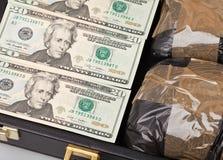 Drug money Stock Photography