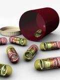 Drug Money Royalty Free Stock Images