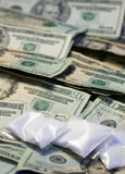 Drug Money Stock Photography